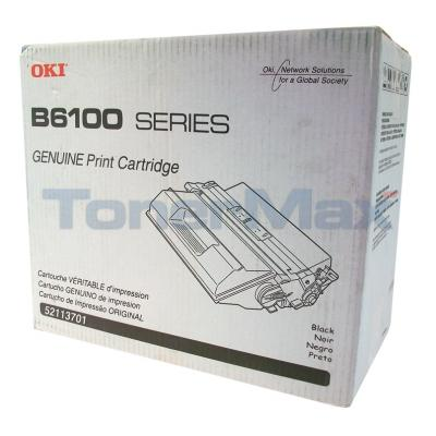 OKIDATA B6100 TONER CARTRIDGE BLACK 15K